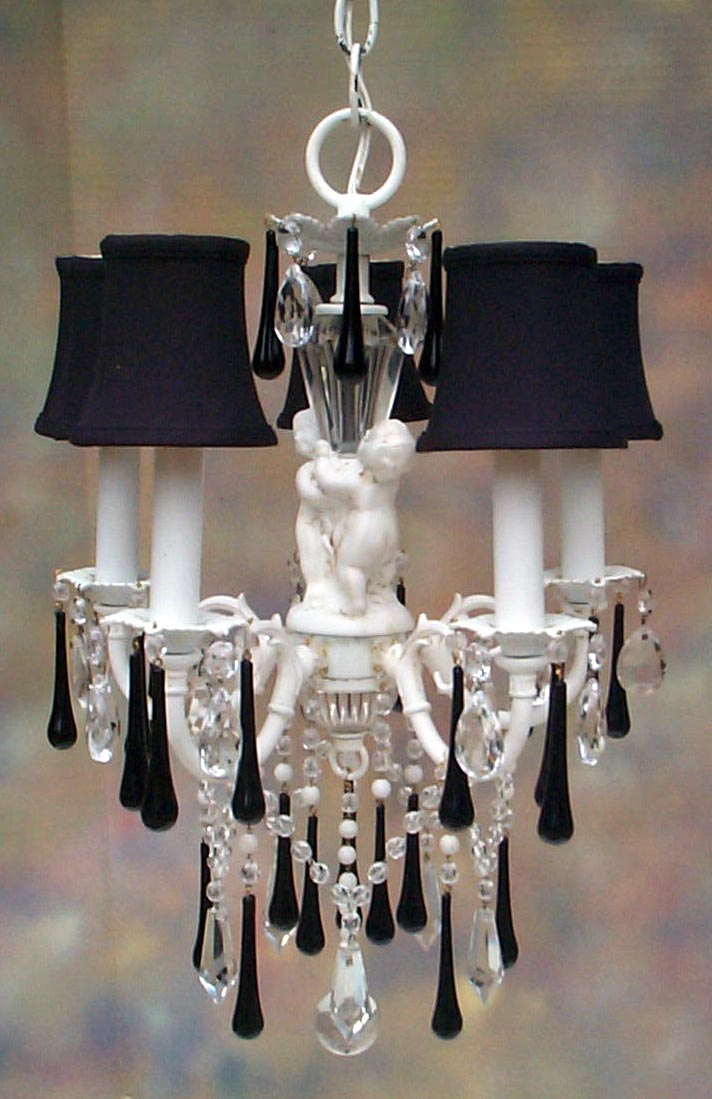 Creative Lighting Option: Shabby Chic Chandelier ...