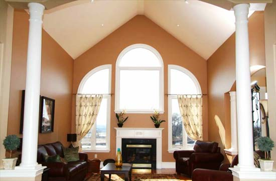 Fabulous Cathedral Ceiling Living Room Design 550 x 362 · 26 kB · jpeg