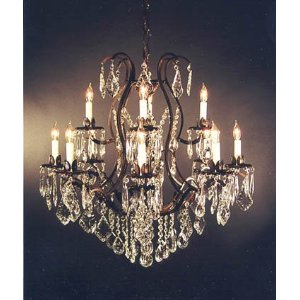 Crystal Chandeliers, Wrought Iron Chandeliers