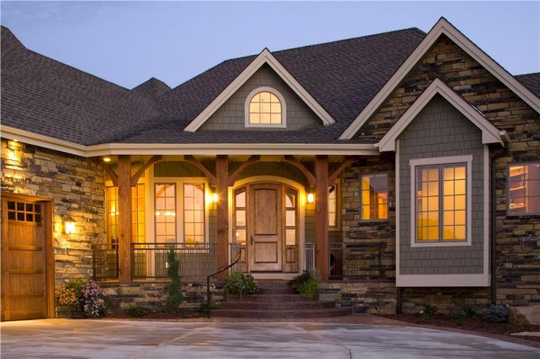 Give your home curb appeal with exterior house lighting Outside house