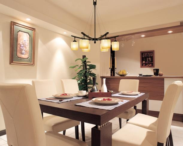 dining room accent lighting