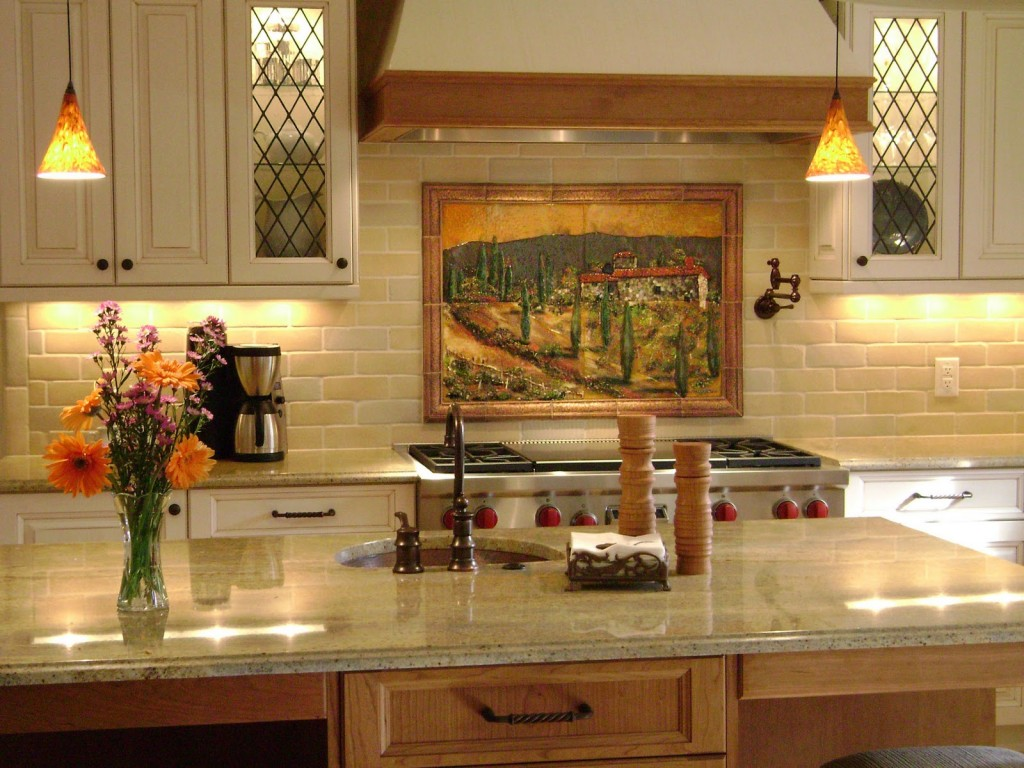 accent lighting kitchen