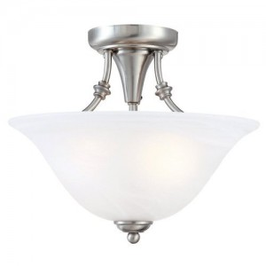 semi flush kitchen light fixture